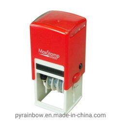 Nombre de la Oficina de plástico personalizada legítima la inyección de tinta sello de caucho