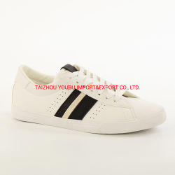 Sneakers chaussures occasionnel des hommes PU Sport chaussures vulcanisées 4466