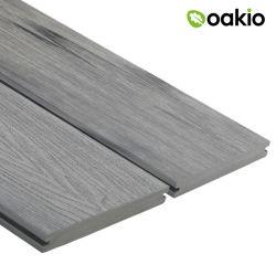WPC ausgeführter Bauholzhölzerner im Freien zusammengesetzter Decking-hölzerner Plastikbodenbelag