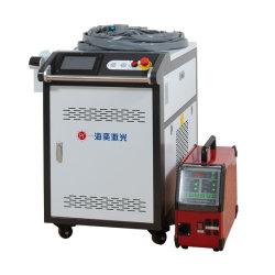soldadora láser portátil 1000W de aleación de aluminio de acero inoxidable tubo de acero al carbono costura recta a precio de la soldadora láser