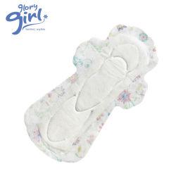 100 de organische Katoenen Menstruele Vrouwelijke Periode van de Hygiëne Dame Napkin Sanitary Pad voor Vrouwen