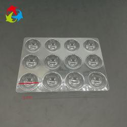 Vakuum, das transparentes Haustier-Blasen-Einlage-Schokoladen-Tellersegment bildet