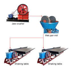 Une récupération élevée Gold Mining Machines Fine Gold alluviaux du matériel de récupération