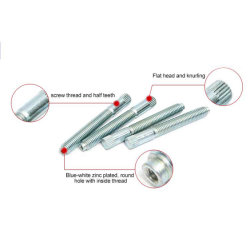 Commerce de gros les attaches métalliques de l'autonomie vis à tête cylindrique de forage
