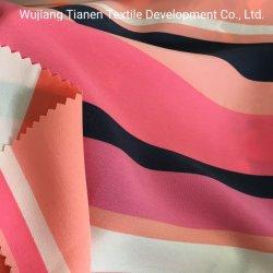 tessuto chiffon del poliestere di disegno di stampa 75D per il vestito dalle donne