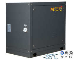 水地熱ソースヒートポンプ(暖房のモード、Monoblockのタイプ)