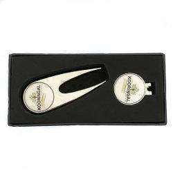 Marcador de uma bola de golfe personalizadas em branco de metal magneto Divot Tool Golf Hat encaixar