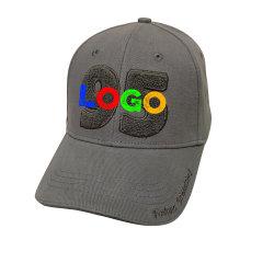 Cappello da baseball professionale personalizzato in 3D con berretto in cotone spazzolato ricamo Cappellino da baseball