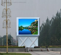 لوحة إعلانات LED/لوحة شاشة LED الخارجية ذات الإضاءة العالية RGB P10