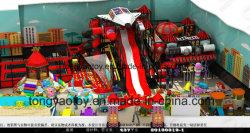 Пластиковые оборудование, детские игрушки детская площадка для установки внутри помещений (TY-181026)