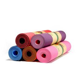 Mat van de Yoga TPE van de Oefening van Pilates van de yoga de Dikke Grote