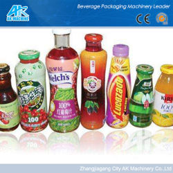 Medio ambiente retráctil azul de PVC de la botella de etiqueta para botella para beber agua mineral/Pet de etiqueta privada
