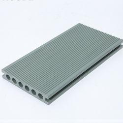 Composto di plastica di legno del grano di alta qualità di Decking solido di alluminio di legno della rete fissa
