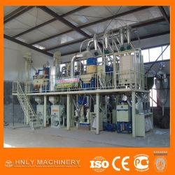 時間の小さいライン小麦粉の製造所ごとの2000のKg