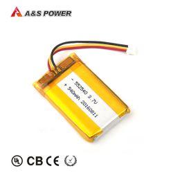 На заводе прямой 552540 3,7В 540Ма малых Литиевая полимерная батарея для перемещения фары