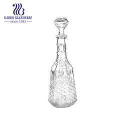 Flaschen-Wein-Dekantiergefäß heiße des Verkaufs-Luxuxart-leeres Glaswein-1.1L (GB30056YL)