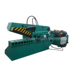 Cocodrilo automática Máquina de cizalla para cortar la hoja de metal