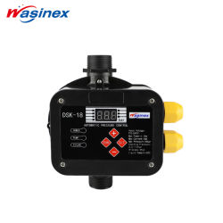Controlemechanisme die van de Pomp van het Water van de Digitale Vertoning 1.1kw/2.2kw van Wasinex het Hete Regelbare Druk tegenhouden