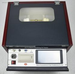 Портативный трансформаторное масло тестирование оборудования Automaticlly измерения диэлектрической прочности масла