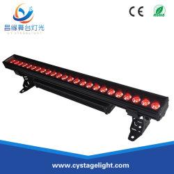 غاسلة حائط LED خارجية بمعدل 24 بيلكل ثانية*10 واط تعمل بتقنية RGBW بمعدل 4 بوصات و1 بوصة