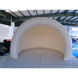 Aufblasbares halbes Abdeckung-Shell-Zelt für im Freienereignis