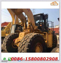 Usa Caterpillar 980h cargadora de ruedas cargadora de ruedas de gran escala que se utiliza Cat 980h pagar Loader
