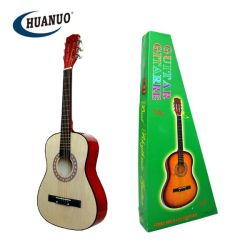 Educación de niños de 34 pulgadas de madera de Guitarra Acústica