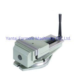 "8""High Precision Accu-Lock Base giratoria sin tornillo de banco de la máquina de CNC"