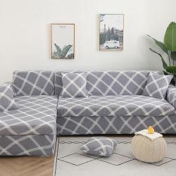 Bolsa de transporte grossista trecho elástico Sofá cobrir, Imprimir Design Última abrange sofá, Magic tricotado de licra Sofá tampa inclinada