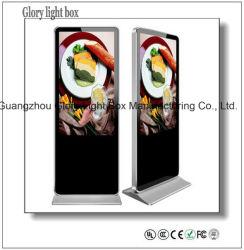 Menu Digital Self-Standing Wall-Mounted ou Restaurante Painel do AD