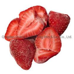 2020 새로운 작물 도매에 의하여 언 IQF는 빨간 신선한 딸기 설탕에 있는 열매를 맺는다