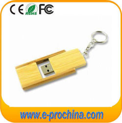 Lecteur Flash USB en bois cadeau avec porte-clés (EW036)