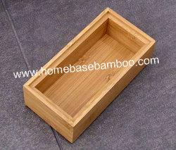 Bamboo in Drawer Storage Box Tray (stapelbare Box) Hb5003