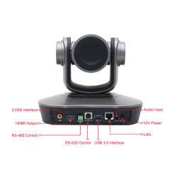 Conferência câmara PTZ 12x zoom grande angular 75 Conference microfone HD 1080P solução de conferência de vídeo