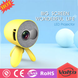 HD Projektor für Kinderprojektor Minides portable-Projector1500 Lumen-video Multimedia-Heimkino LCD-LED