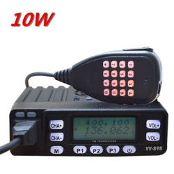 Tc-898UV Mini 10W à double bande Amateur Radio Mobile