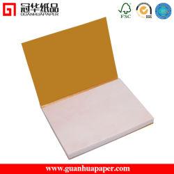 Die Cut Memo Pad Cube de papier personnalisé avec capot papier