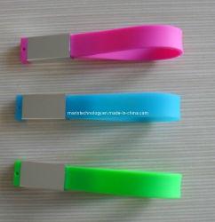 De Bestuurder van de Flits van het Sleutelkoord USB van het silicone