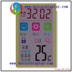 Melhor painel LCD de condicionador de ar de 8 cores