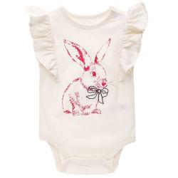 Nouveau design de marque personnalisée charmant Romper bébé fille