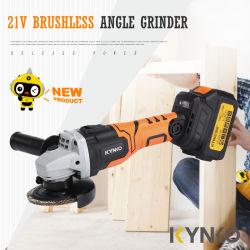Kynko 21V Brushless meuleuse d'angle, batterie au lithium meuleuse d'angle sans fil