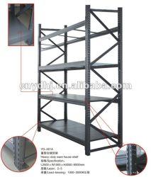 Ce rack de stockage de tuyaux en acier pour l'entrepôt avec 4 couches