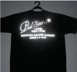 Tシャツのための熱伝達のカスタマイズされた反射ロゴ