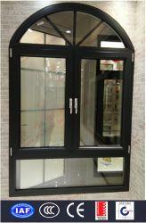 Finestra in alluminio con finestra a impatto Hurricane di qualità superiore