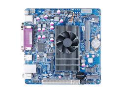 Mini-Itx a bordo de la Motherboard CPU Atom D525 2*COM LVDS de apoyo, VGA