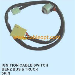 При включенном зажигании-4002 Opt-Bz кабель для переключателя Benz шины&погрузчика 5контакт