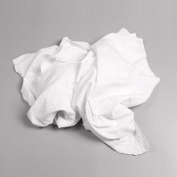 Hôtel recyclé drap de lit 100% coton absorbant les chiffons de nettoyage industriel