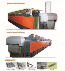Convoyeur continu contrôlé de gaz industriels Mesh Belt four/four de traitement thermique