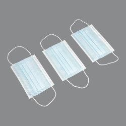 중국 도매 의학 외과 가면 부직포 3개 가닥 처분할 수 있는 가면 외과 가면 제조자
