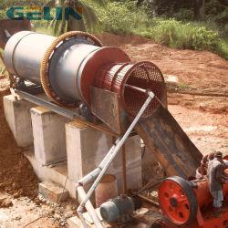 Argilla alluvionale sabbia oro miniera lavatrice mobile tamburo rotante Scrubber Trommel 5%